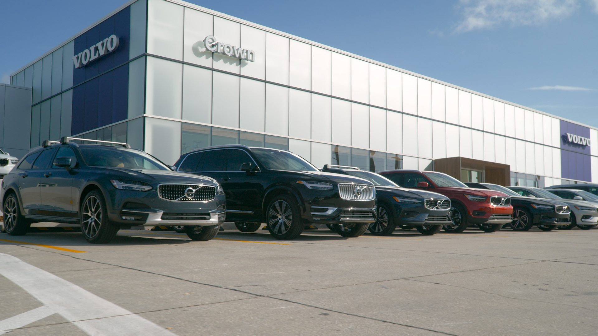 Volvo shows an incline in sales figure