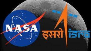 nasa plus isro logo