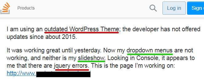 Stack overflow issue