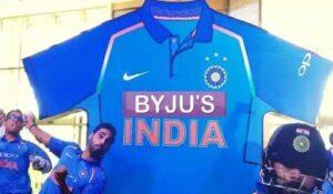 team india sponsor for cricket