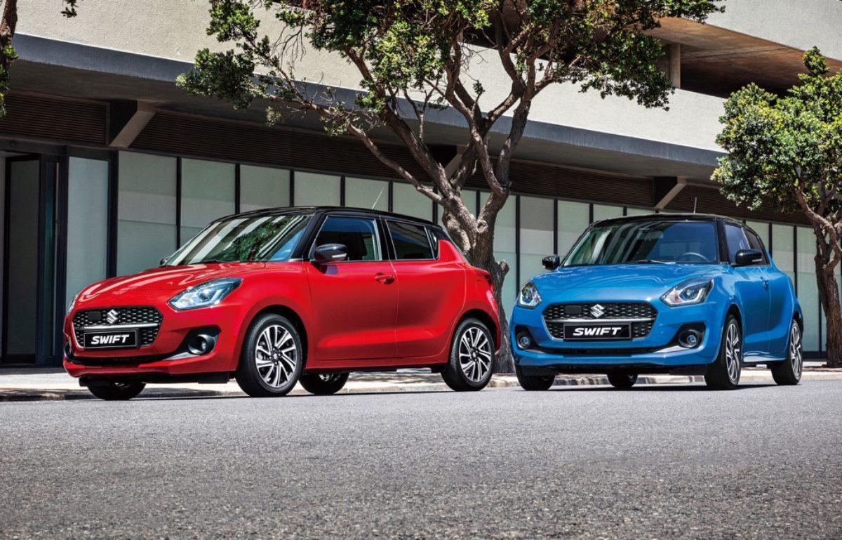 2021-Suzuki-Swift-Facelift in UK