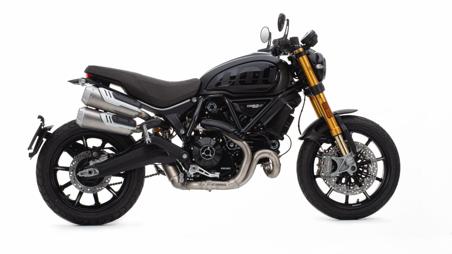 Ducati Scramber Pro 1100 side profile