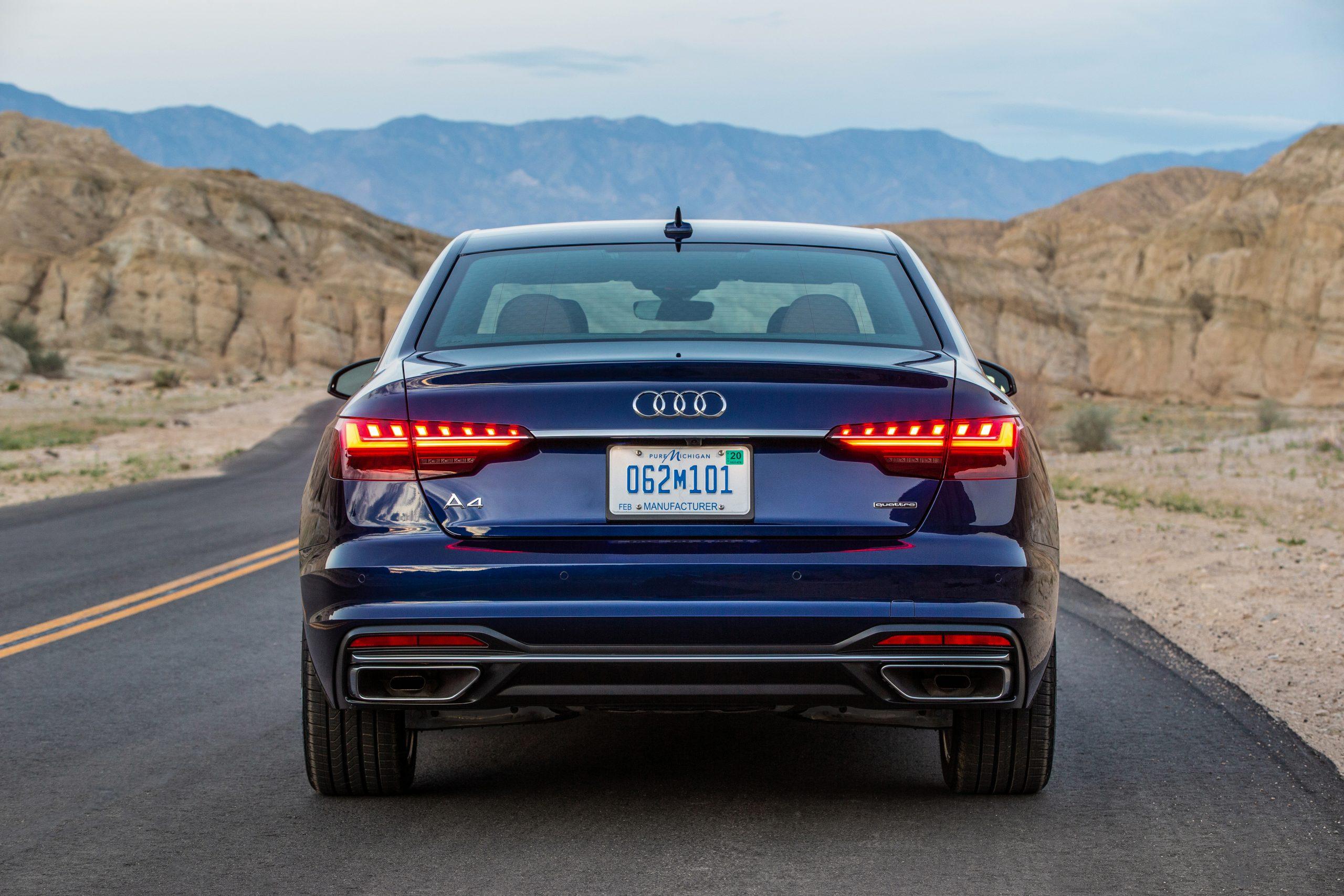 2021-Audi-A4-Facelift-Back