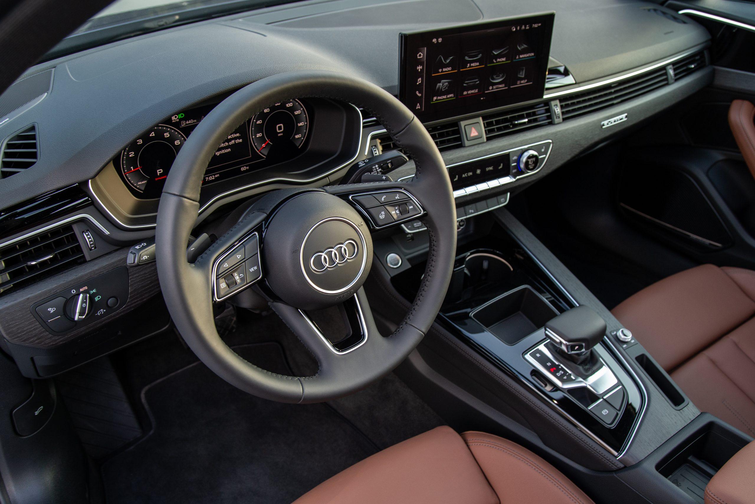 2021 Audi A4 Facelift Interior