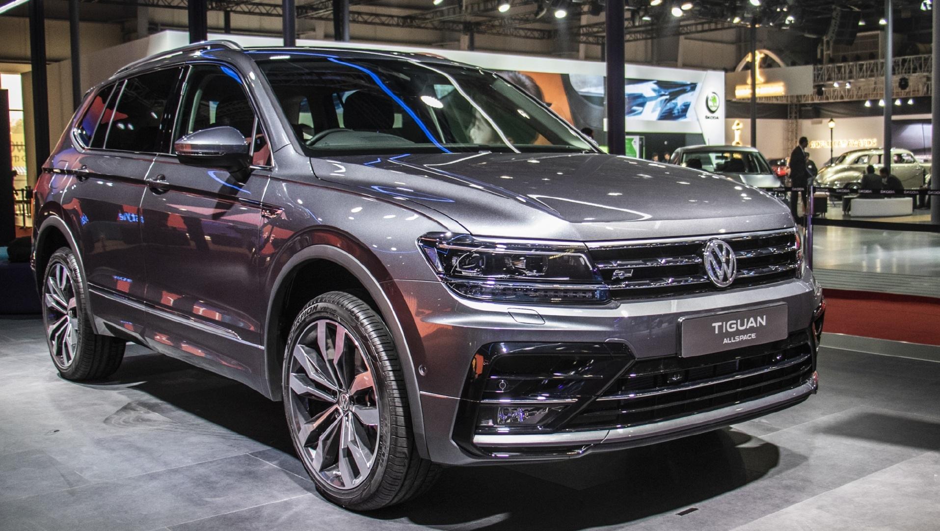 Volkswagen Tiguan All Space Top Five Full Size SUVs