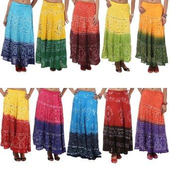 Bandhini-skirts