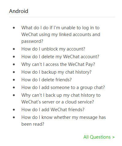 Login problems wechat How to