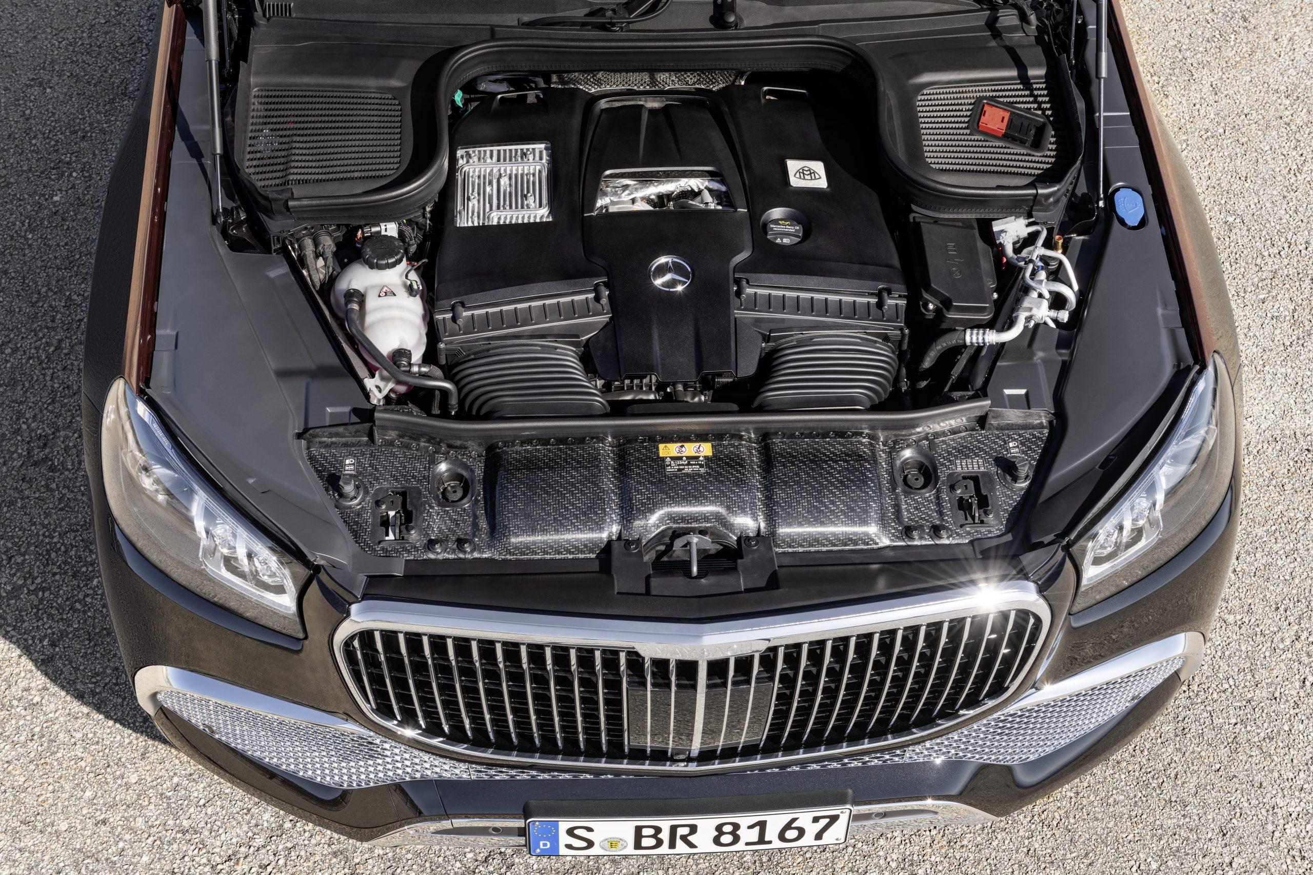 Mercedes-Maybach GLS 600 4MATIC Engine