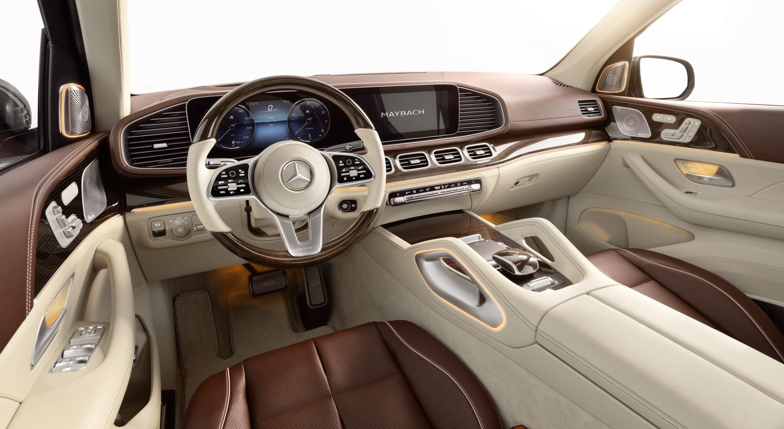 Mercedes-Maybach GLS 600 4MATIC Interior