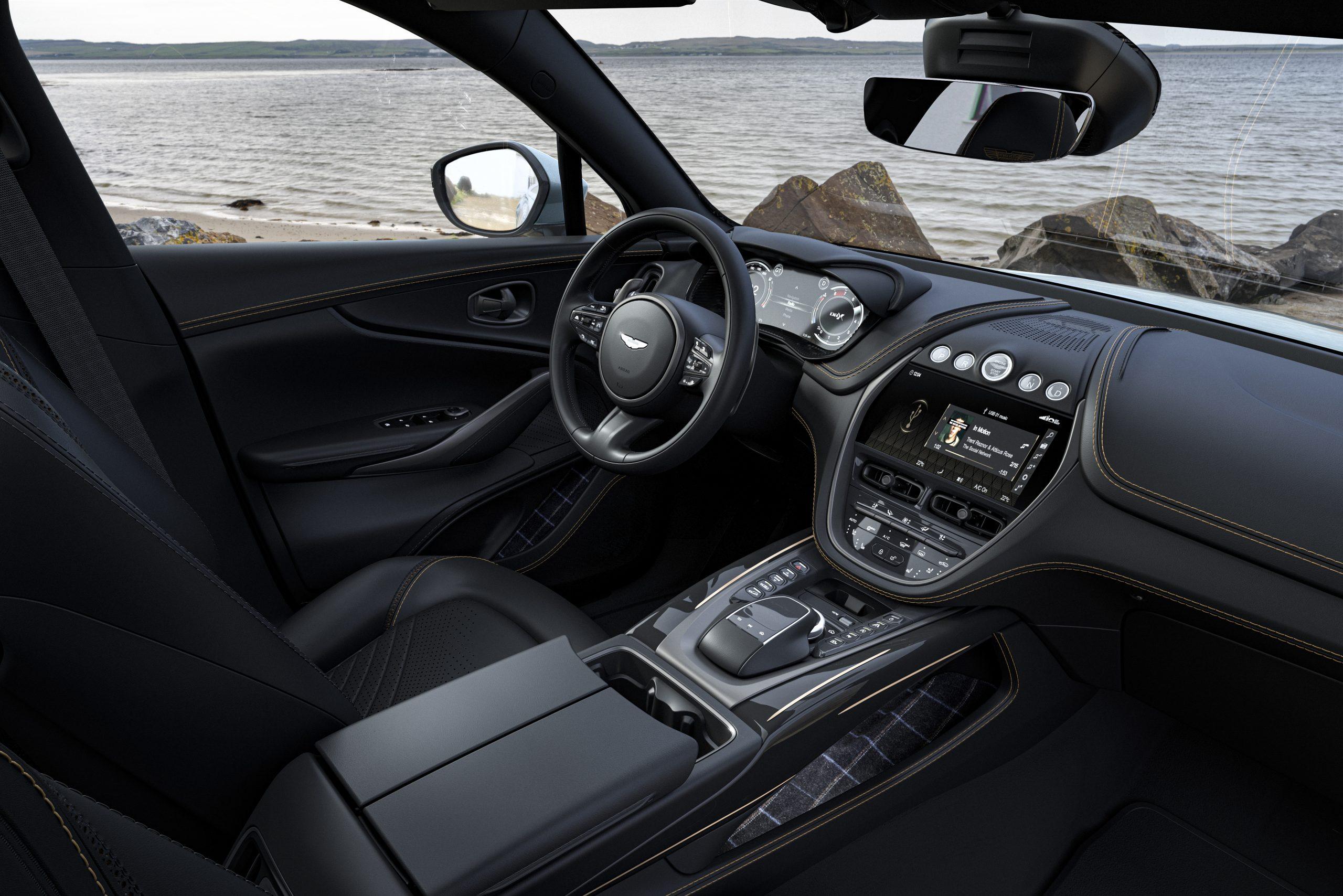 2021 Aston Martin DBX Bowmore Edition Interior